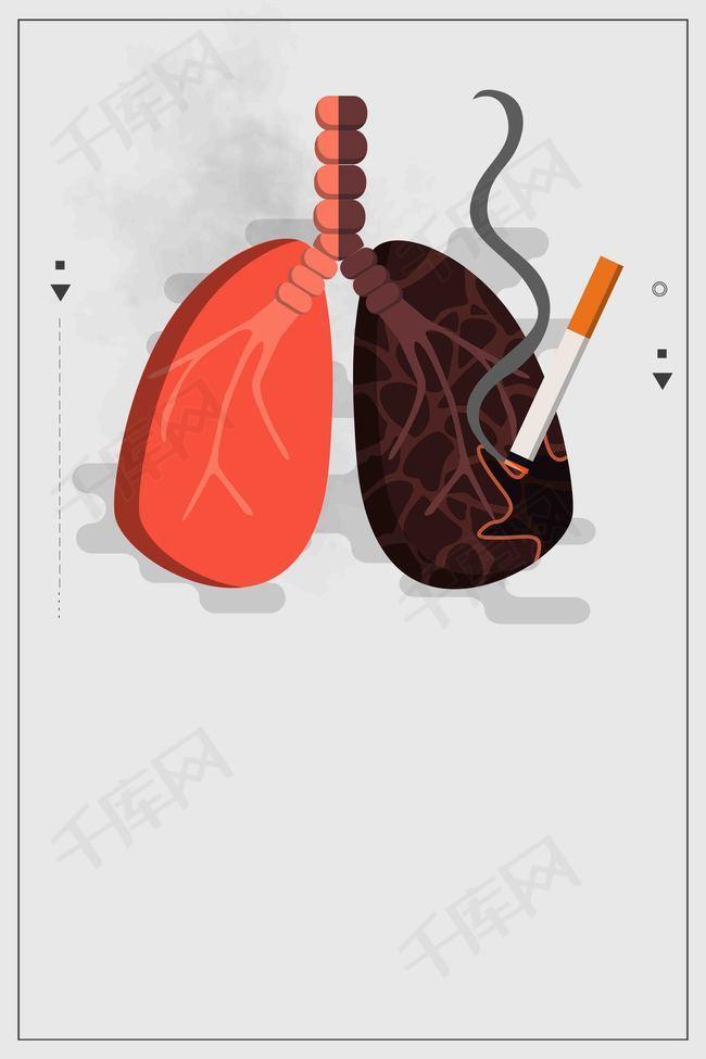 创意5.31世界无烟日公益海报