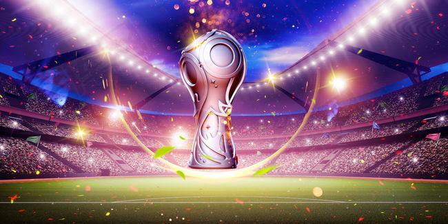 激战世界杯足球PSD素材