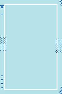 蓝色小清新秋季上新海报