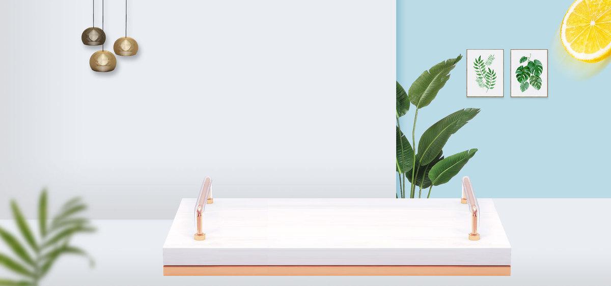 家具风格榨汁机厨房创意电器海报图片