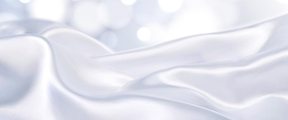 简约白色丝绸质感面料绸缎背景