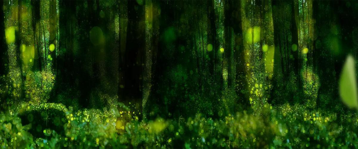 梦幻森林背景素材面膜下载