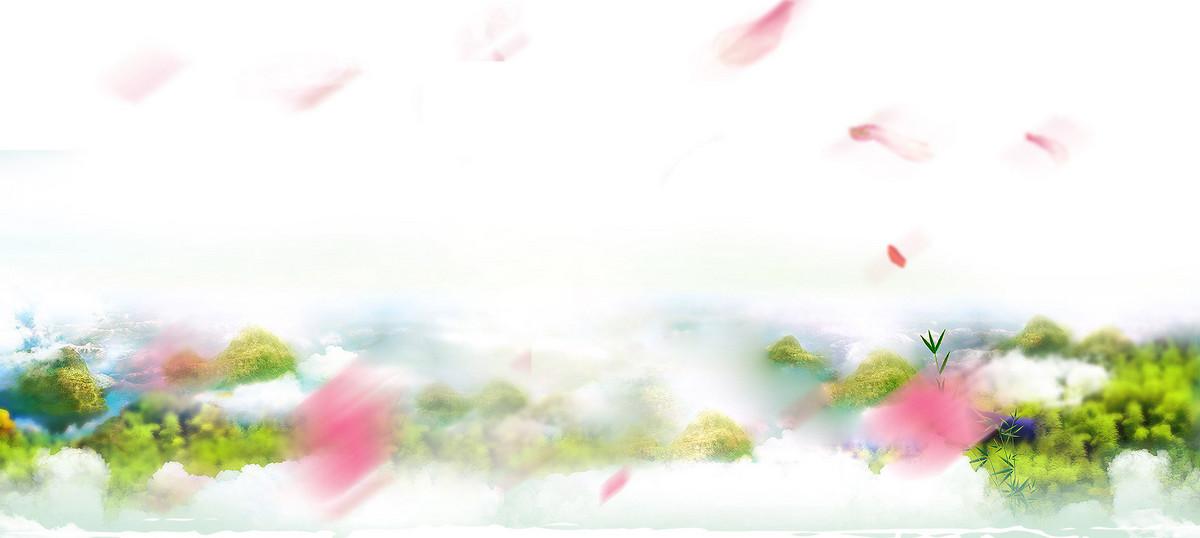 小清新茶叶促销banner图片