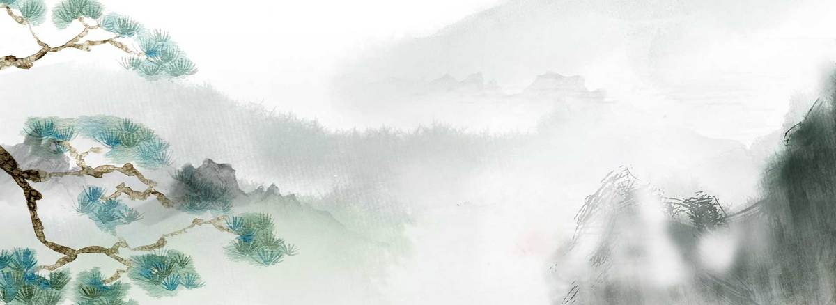 古色古香中国风手绘文艺banner