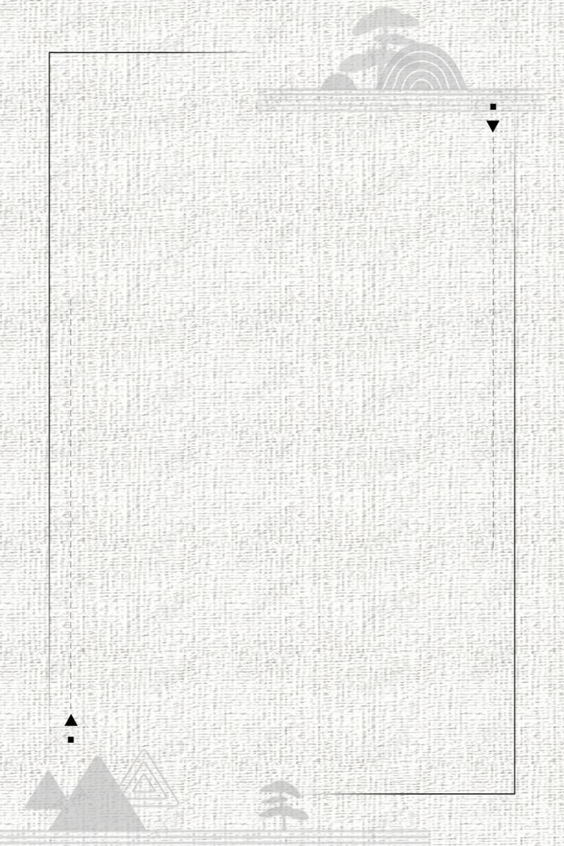 简约文艺淡雅手绘边框背景图片免费下载_广告