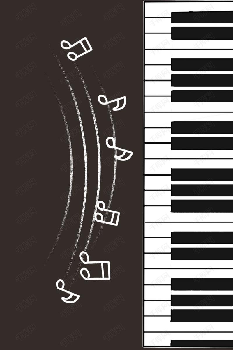 海报  矢量  钢琴   创意 音乐会 钢琴 海报 矢量 设计 背景模板 手绘
