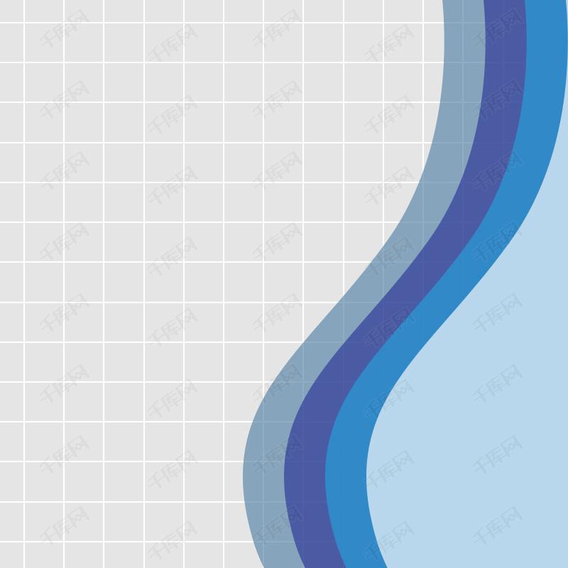 手绘表格蓝色线条背景