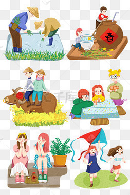 农民卡通图片 农民卡通图片素材免费下载 千库网 第3页