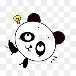 Q版可爱表情上吊小动物卡通小熊猫自杀a表情歪头网表情包心碎红图片