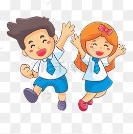 六一儿童节卡通小学生儿童插画图片图片