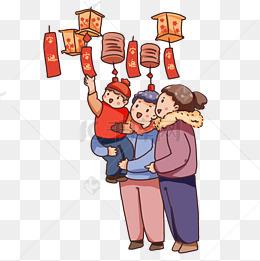 2019元宵节逛灯会猜灯谜图片