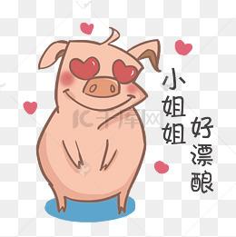 【搞笑猪大全动漫】免费下载_搞笑猪表情表情图片100表情包素材图片种图片