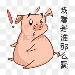 【搞笑猪学者表情】免费下载_搞笑猪素材表情图片包表情像医致敬图片