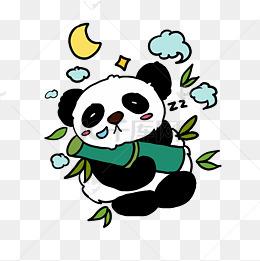 熊猫宝宝q版卡通角色人物形象聊天表情包怒图片