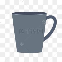杯子简约马克杯下午茶免扣素材矢量图片
