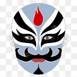 卡通脸谱图片_脸谱图片-脸谱素材图片-脸谱素材图片免费下载-千库网png