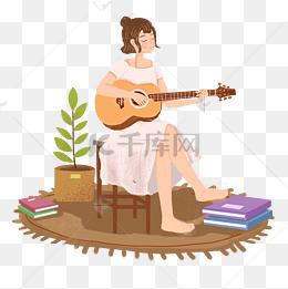 简单女生二胡家乐器说链图片