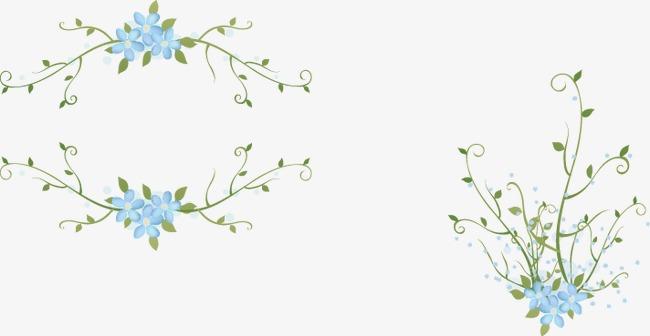 小清新花边底纹
