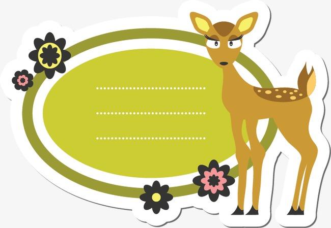 卡通动物边框(图片编号:15401867)