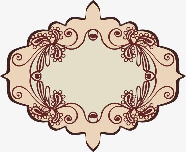 欧式花纹边框装饰(图片编号:15404057)