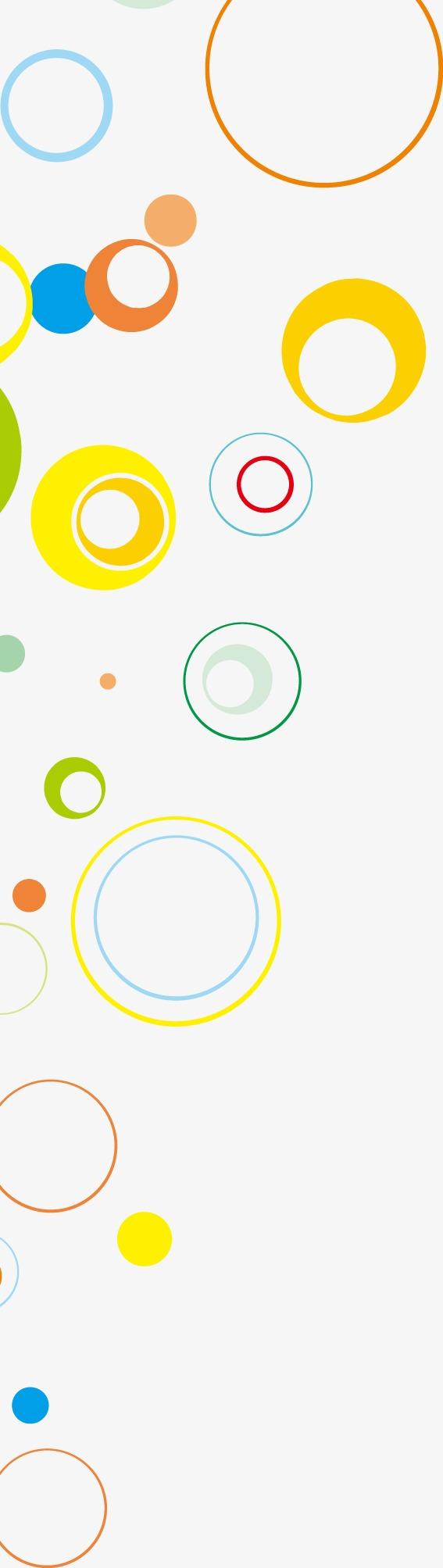 设计元素 背景素材 其他 > 创意彩色圈圈名片底纹  [版权图片] 找相似