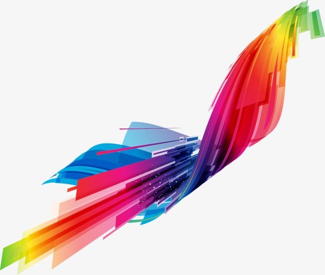 设计元素 背景素材 其他 > 彩色创意名片底纹