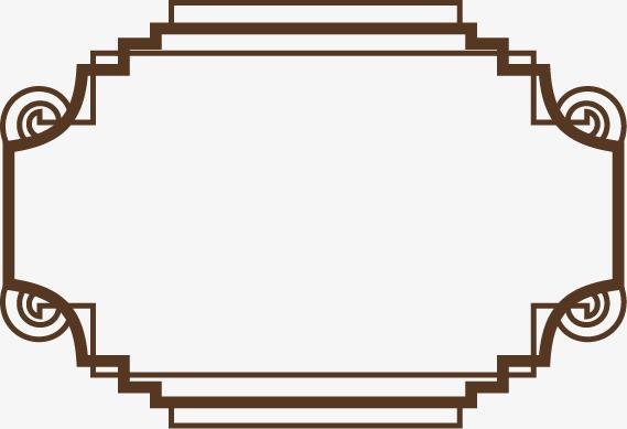 欧式线条边框(图片编号:15402251)