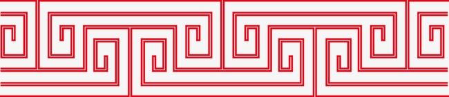 中国风复古花纹边框