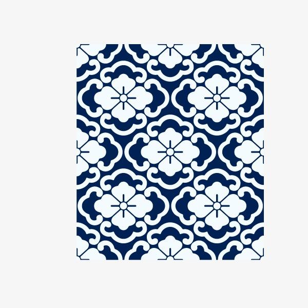 青花瓷底部花纹(图片编号:15401777)