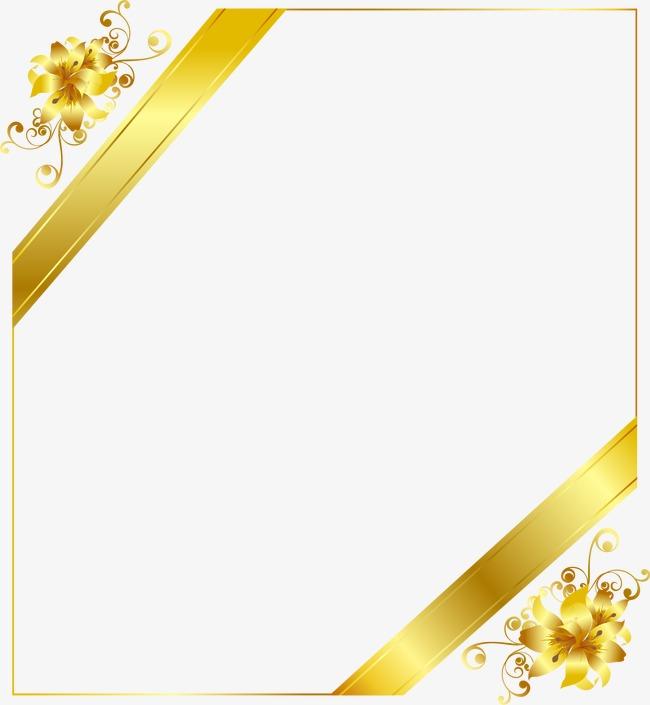 高清金色花纹背景