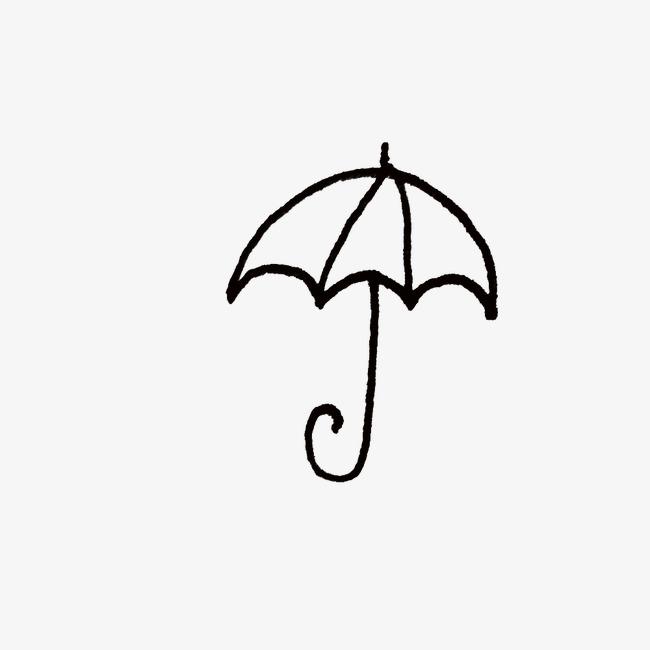 简笔画小伞素材图片免费下载 高清装饰图案png 千库网 图片编号