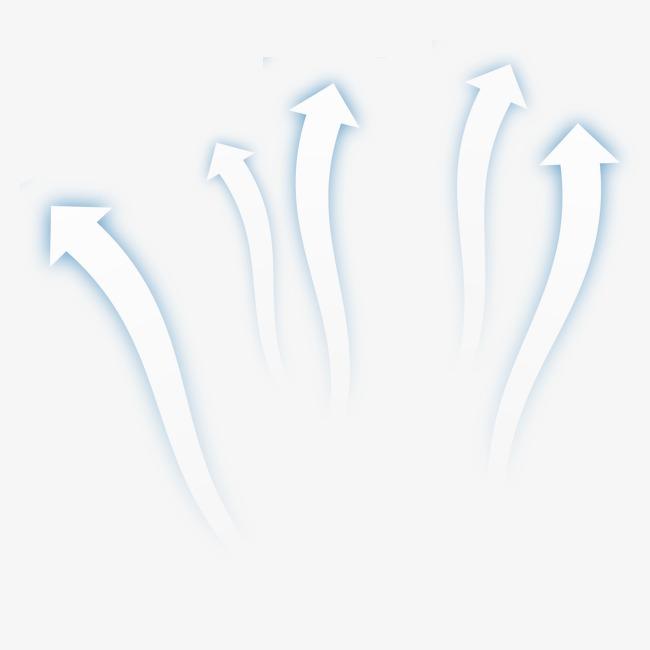 透气 箭头 清新 透明【高清png素材】-90设计