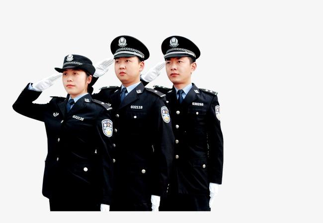 正在敬礼的警察素材图片免费下载_高清图片png_千库网