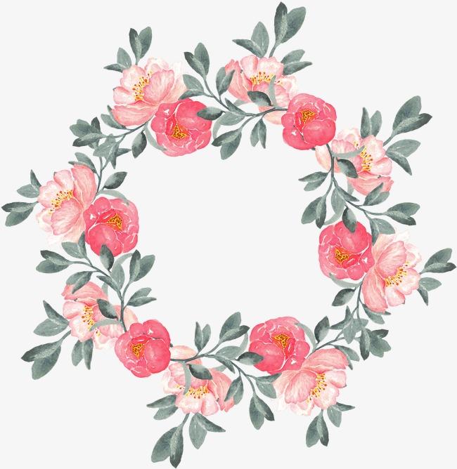 手绘花卉花卉手绘手绘花卉飘落牡丹月季花玫瑰花花卉设计唯美花卉水彩花卉水墨花卉花草手绘花草绿色植物