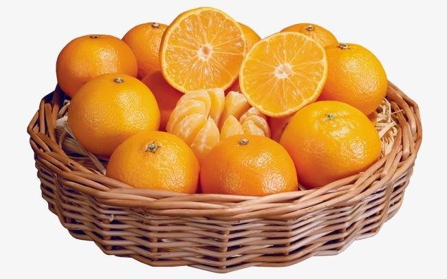 橘子水果拼盘