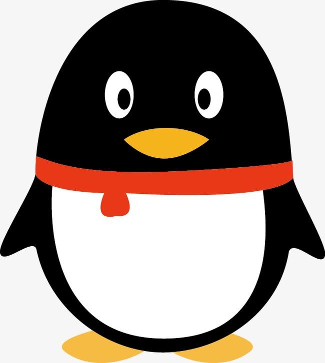 胖胖的企鹅 腾讯企鹅 插画 卡通             此素材是90设计网官方图片