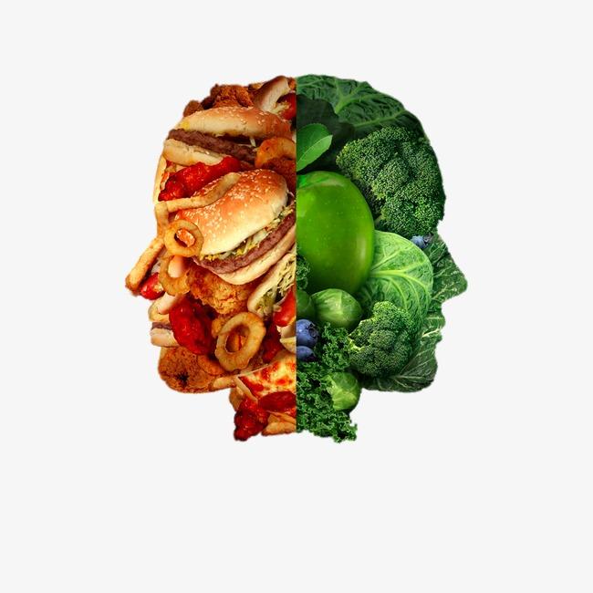 创意食物拼图图片