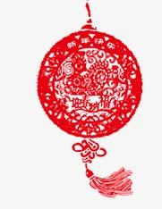 中国结剪纸