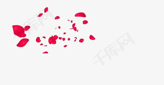 漂浮玫瑰花