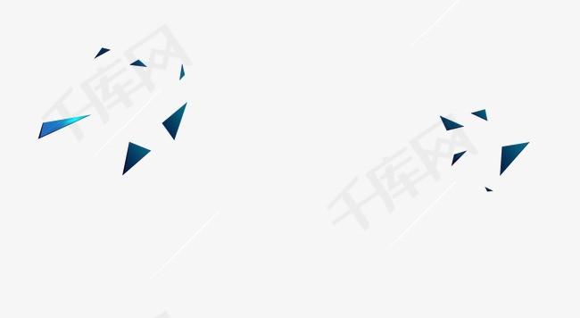 文案装饰几何