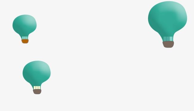 漂浮扁平气球