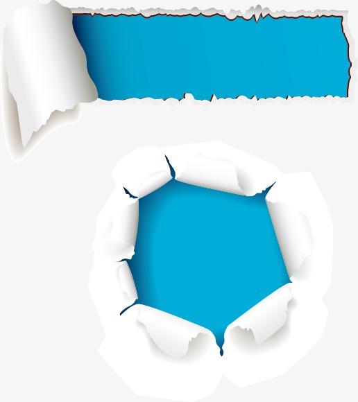 蓝色裂痕素材