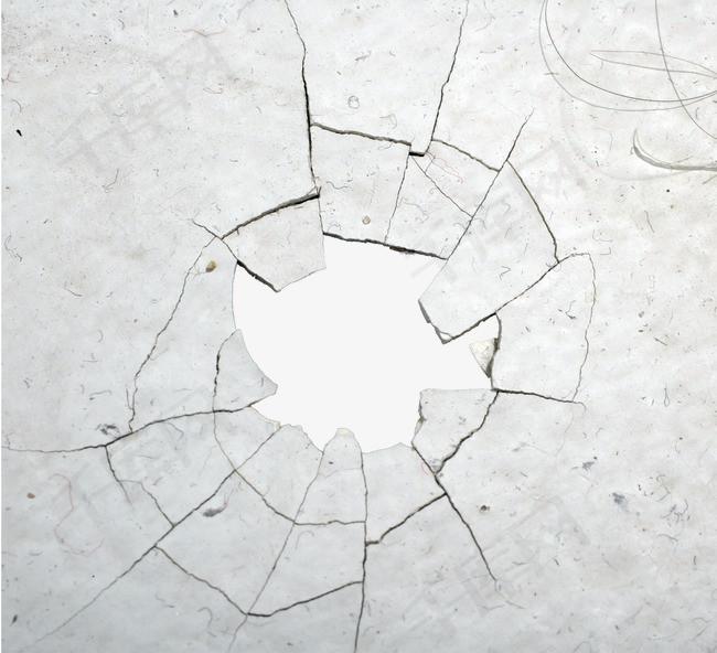 灰色地板裂痕背景