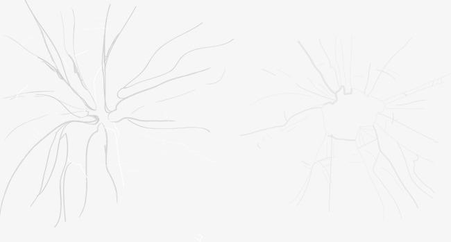 破碎蜘蛛网图形素材