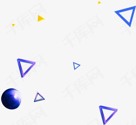 三角形圆球