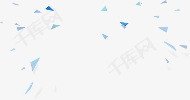 漂浮的菱形