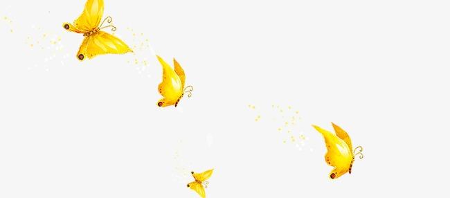 金色唯美蝴蝶模板下载(图片编号:14584874)