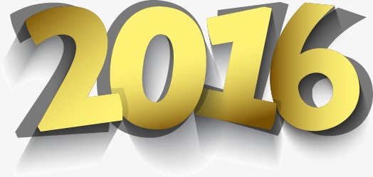 2016创意3d立体字新年猴年