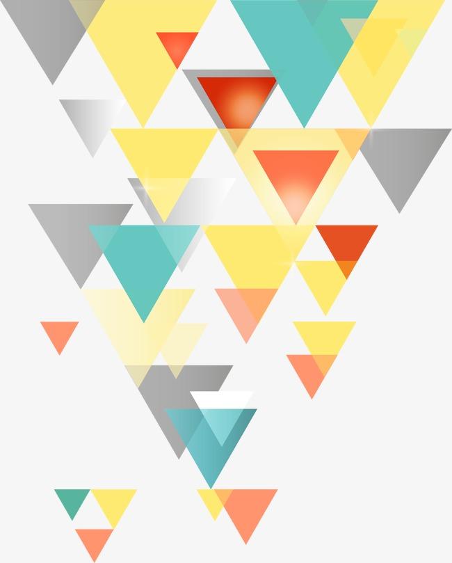 多彩三角形