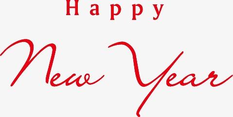设计元素 字体效果 中文字体 > happy new year  [版权图片] 找相似下